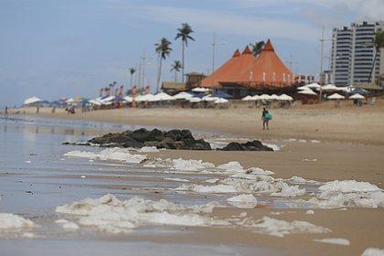 A Praia de Patamares é uma das mais impróprias