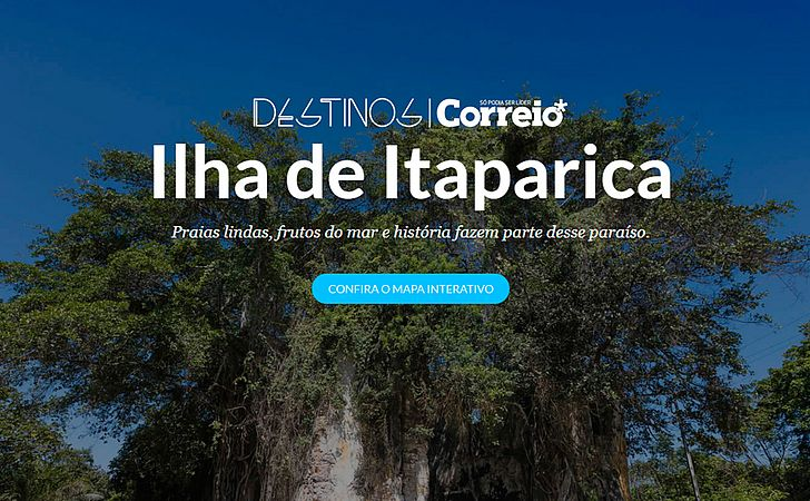 Destinos - Ilha de Itaparica