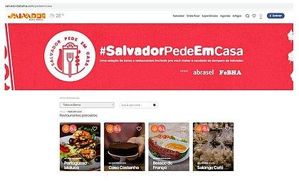 'Salvador Pede em Casa': campanha apoia consumo em bares e restaurantes