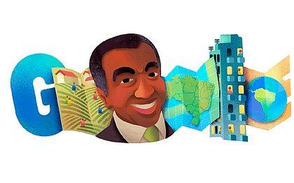 Geógrafo baiano Milton Santos é homenageado pelo Google