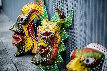 Máscaras do Carnaval de Maragojipe fazem parte do acervo