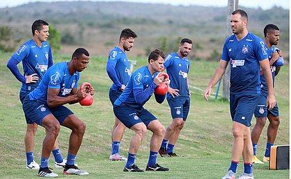 Luiz Otávio e Jonas fazem parte da renovação promovida pelo Bahia na temporada 2021
