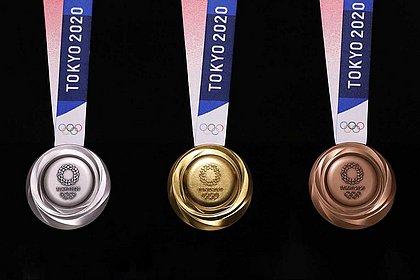 Medalhas das Olimpíadas de Tóquio-2020