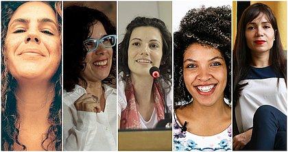 Flavia Azevedo, Nadia Vladi, Maira Kubik Mano, Lorena Vilas Boas e Mariana Regis são as convidadas do Polêmicas Contemporâneas