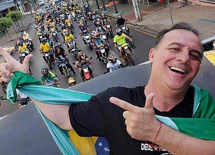 Silvio Antônio Fávero (PSL) se declarava a favor do uso de medicamentos que não têm eficácia comprovada contra a covid-19