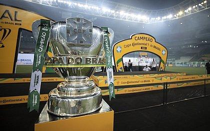 O troféu da Copa do Brasil 2020