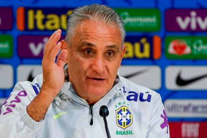 Tite afirma que seleção mereceu vaias na estreia na Copa América