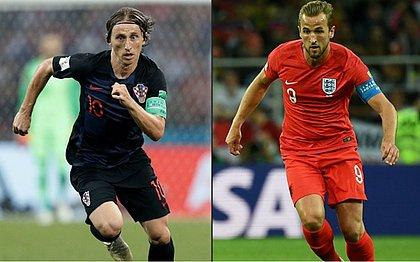 Modric e Harry Kane são promessas de gols para jogo de hoje