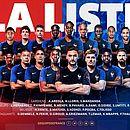 França apresenta os 23 convocados para o Mundial