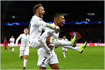 Dupla Neymar e Mbappé é a esperança do PSG diante do Manchester City