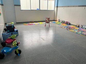 Escola ganhou espaço multifuncional com reforma