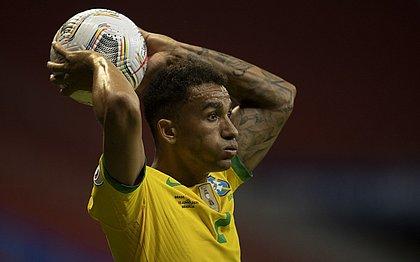 Danilo, lateral-direito da seleção brasileira