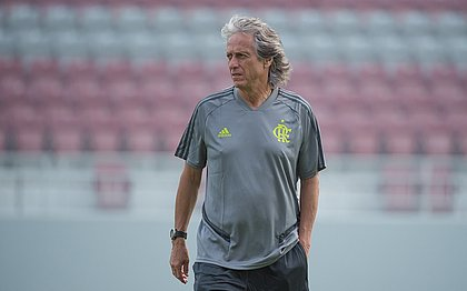 Jorge Jesus vê pressão como sinônimo do sucesso do Flamengo