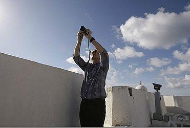 Fotografando no Forte de Santa Maria