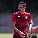 Vindo do futebol da Bulgária, Marcelinho marcou um gol com a camisa do Vitória