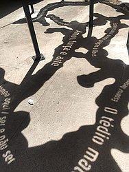Rua dos Ourives recebe obra de Lanussi Pasqual