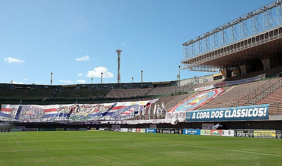 Jogos de futebol vêm sendo realizados sem a presença dos torcedores