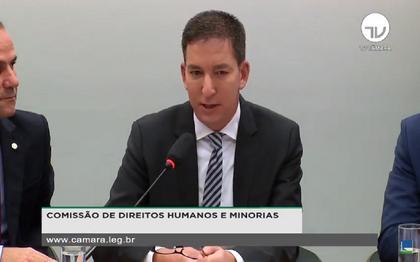 Assista: Glenn Greenwald fala na Câmara sobre as mensagens da Lava jato