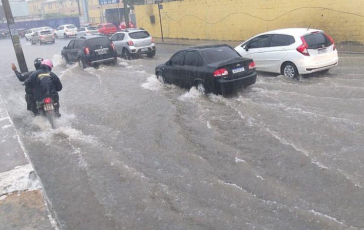chuva em salvador