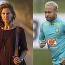 Patricia Pillar e Neymar entraram em atrito nas redes sociais