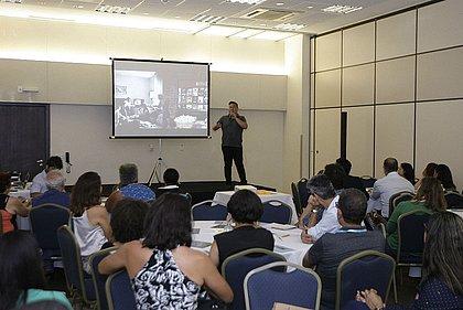 Eduardo Endo sugeriu que plateia criasse estratégias para melhorar venda de acarajé