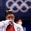 Simone Biles não participará da final do individual geral