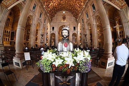 Missa na Catedral Basílica homenageia São Francisco Xavier, padroeiro de Salvador