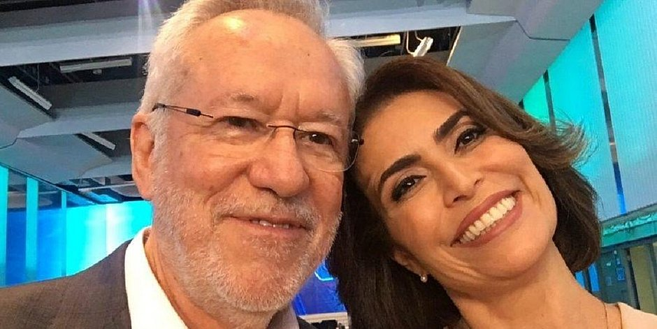 Giuliana Morrone diz que Alexandre Garcia 'está gagá, tipo Regina Duarte'