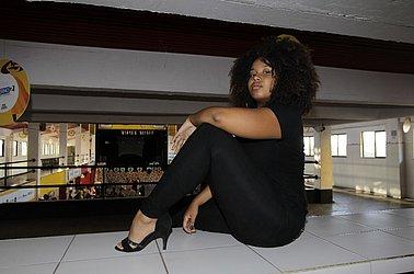 Larissa Viana, moradora do Nordeste de Amaralina, participou da seletiva