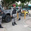 Policiamento está reforçado