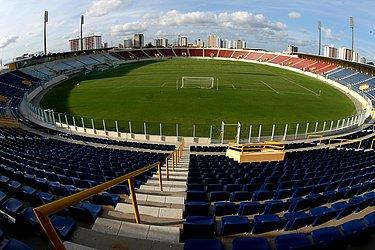 Podendo receber até 15.575 pessoas, o Batistão só é a casa de Confiança e Freipaulistano porque o caçula do Nordestão não teve o estádio Titão liberado