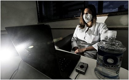 Niliane Brito precisou reduzir a quantidade de pacientes durante a pandemia