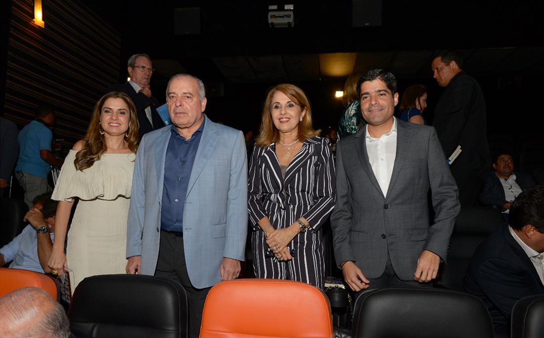Renata Correia, Antonio Carlos Júnior, Rosário Magalhães e ACM Neto