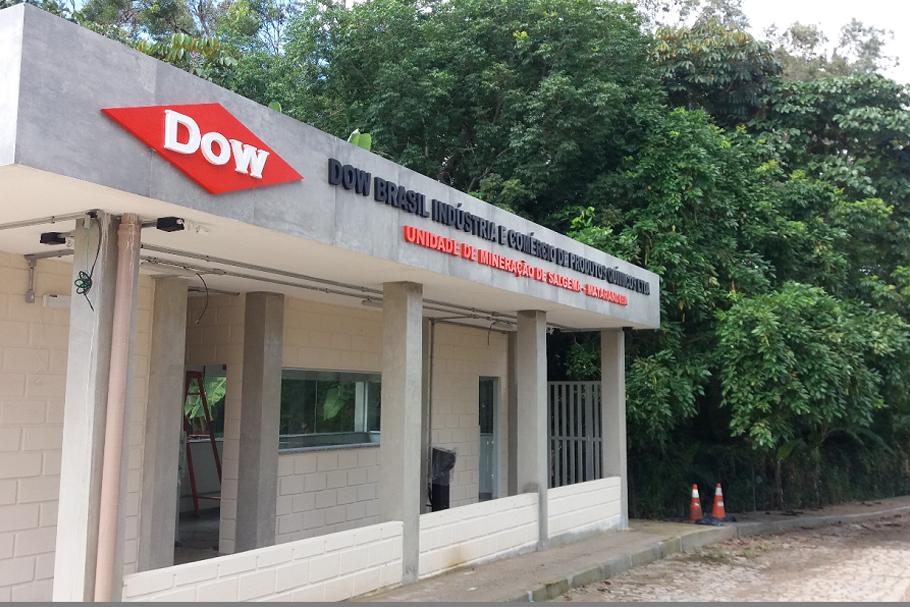 Entrada da Dow Química em Matarandiba