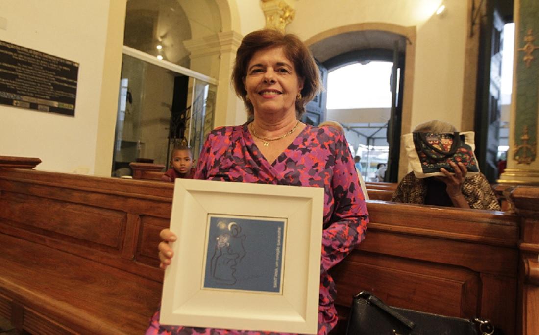 A devoção da aposentada Ana Lúcia Dias já dura 40 anos: 'ela salvou a vida do meu marido'