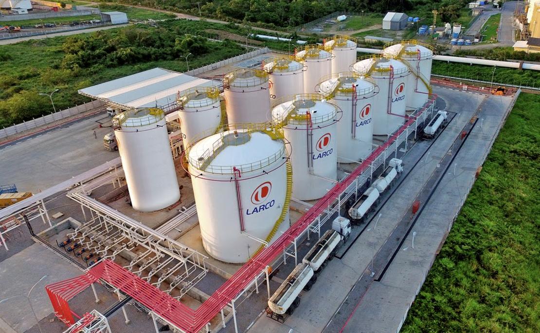 Local do incêndio abriga atualmente base da distribuidora baiana de combustíveis Larco