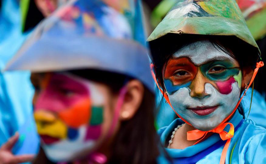 Carnavalito em Pasto, na Colômbia