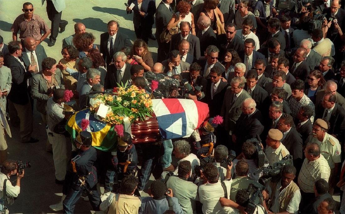 Luís Eduardo se foi no dia 21 de abril de 1998