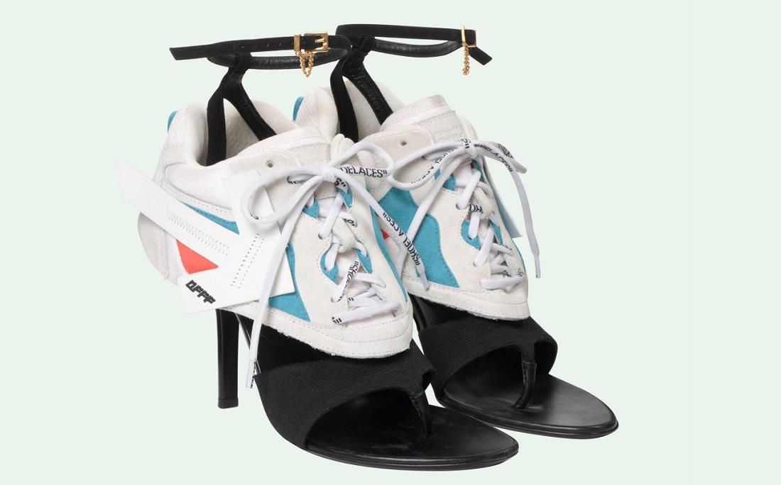 df6f46aee4b A nova bizarrice da moda está entre nós - e mistura tênis e salto - Jornal  CORREIO