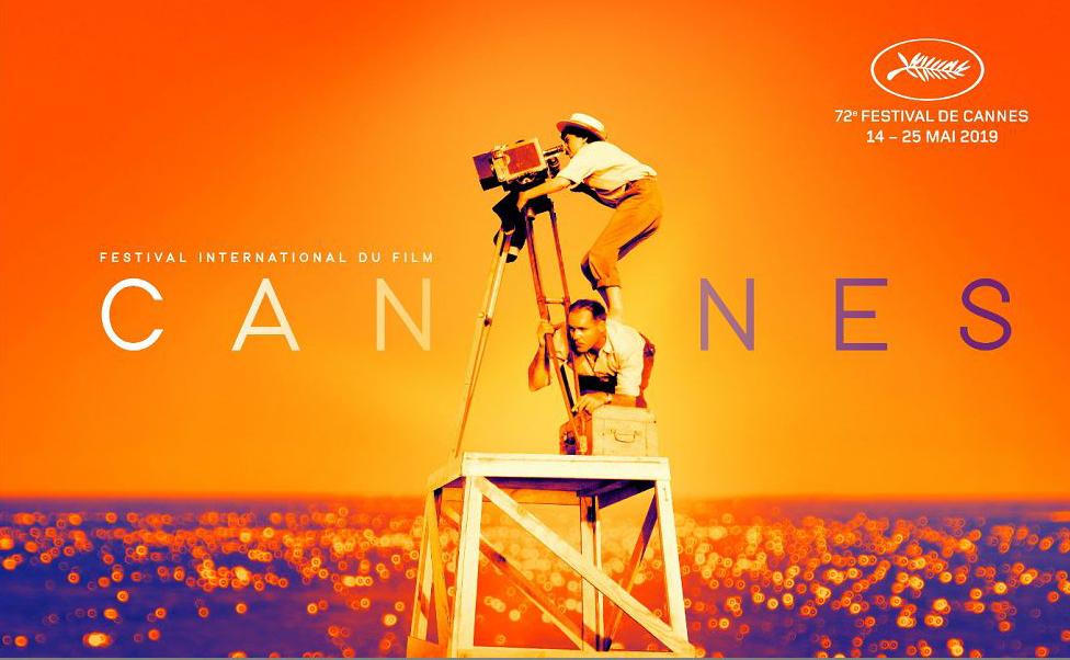 Cartaz oficial do 72º Festival de Cannes homenageia a cinestas Agnes Varda, falecida recentemente.