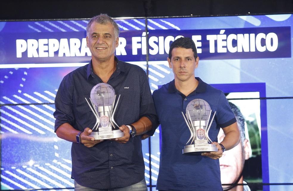 Bahia de Feira tem comissão técnica premiada: treinador Barbosinha e preparador físico Michel Pinheiro