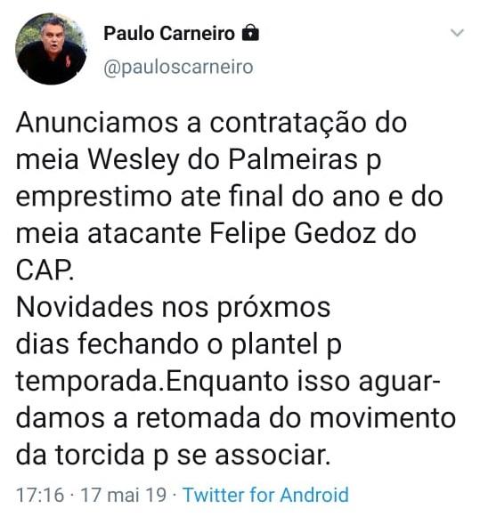 Vitória confirma contratação de Felipe Gedoz, do Athletico 11