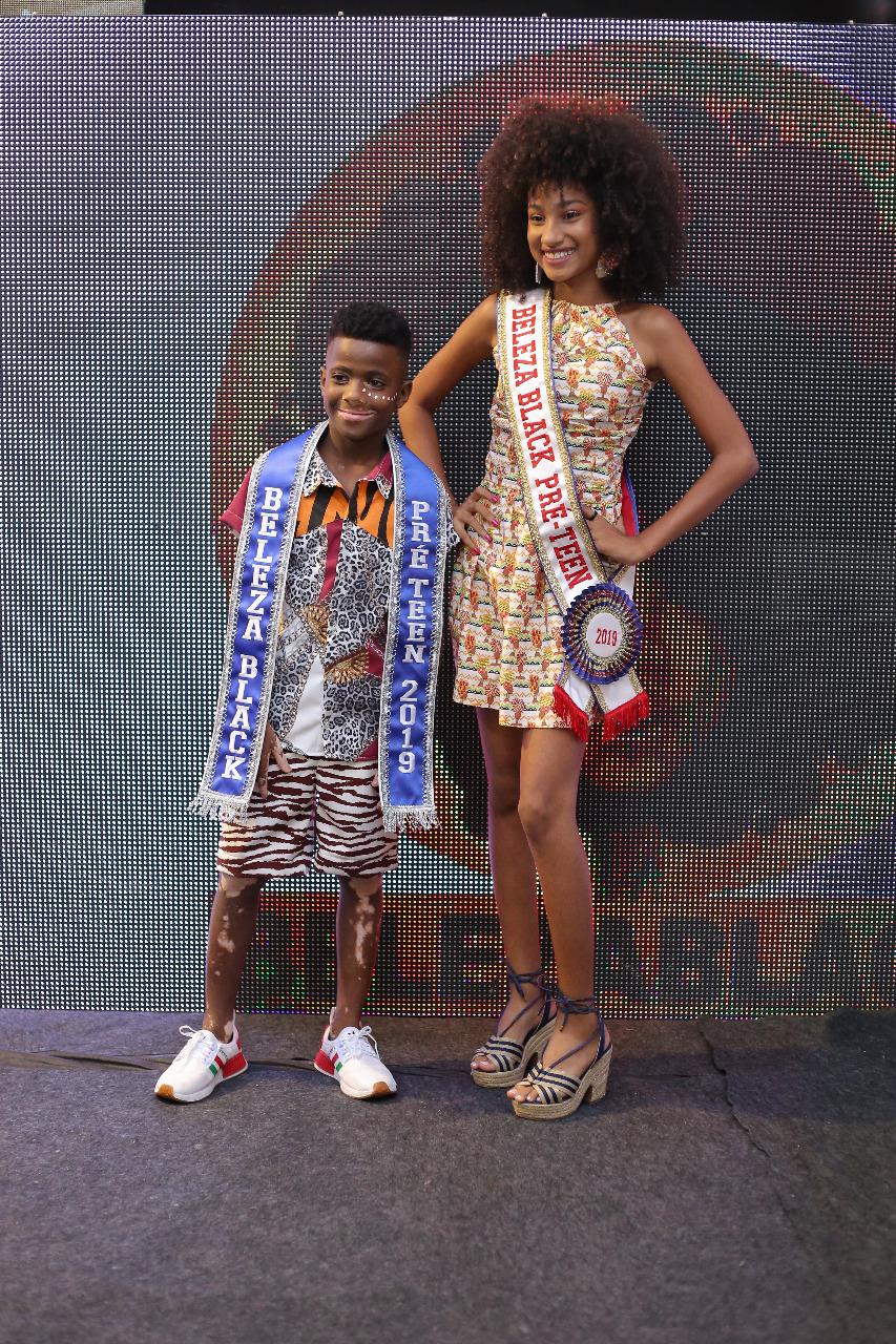 Beleza Black Pré Teen - Nadson Kaique e Camila Rodrigues