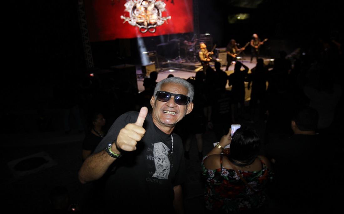 'O rock é minha vida', afirma securitário Cid Rui, de 55 anos