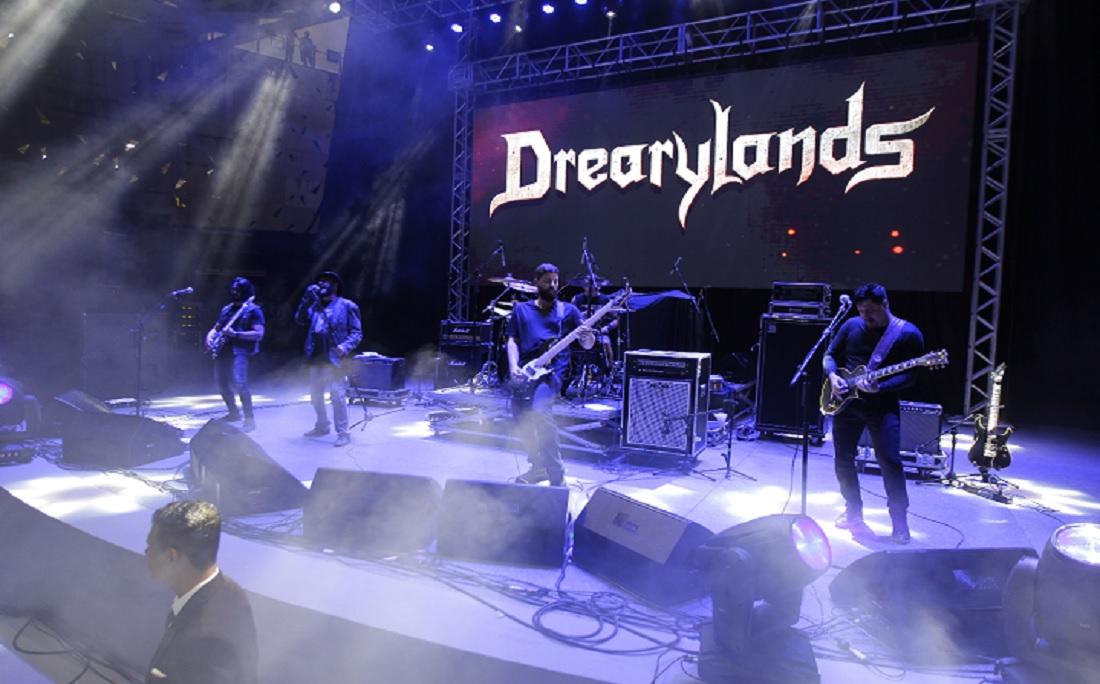 A banda Drearylands abriu o primeiro dia de Rock Concha