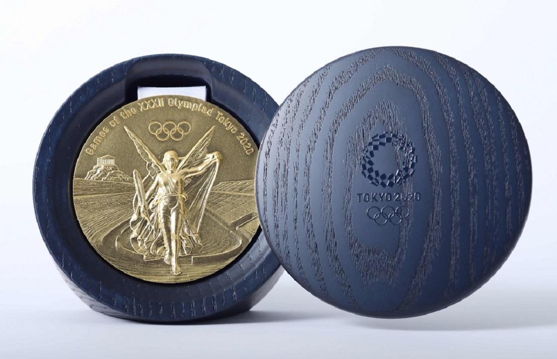 Aí está a medalha mais cobiçada de todas, a de ouro