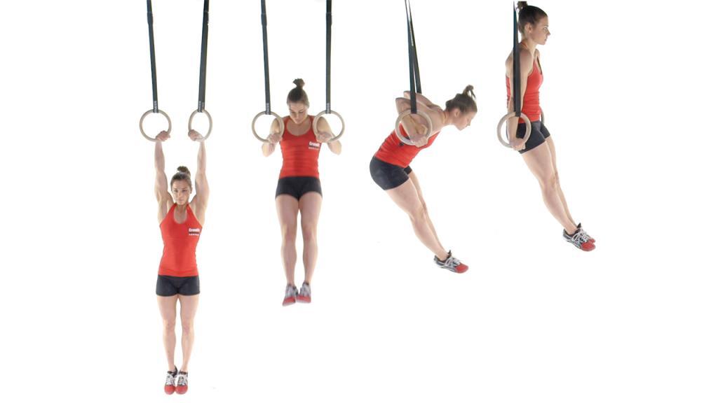 Ring Muscle Up é um exercício inspirado na ginástica artística; confira glossário explicando os termos do CrossFit no final do texto