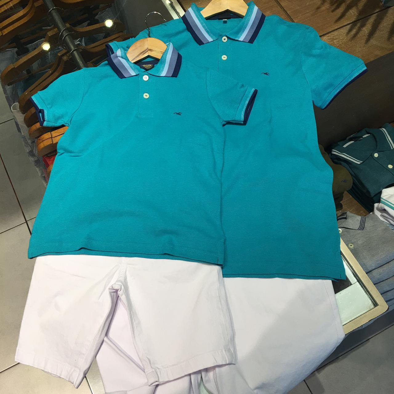 Bermuda Adulto (R$ 185) Polo Adulto (R$ 99) - Zip Náutica - Shopping da Bahia