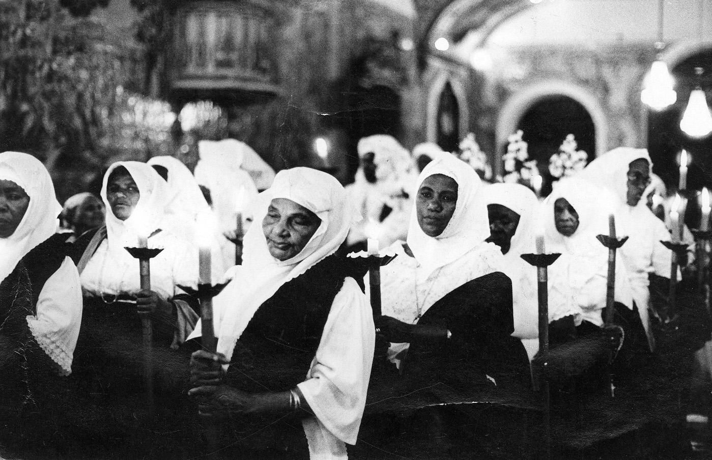 Irmandade da Boa Morte em Cachoeira, no dia 12 de maio de 1984