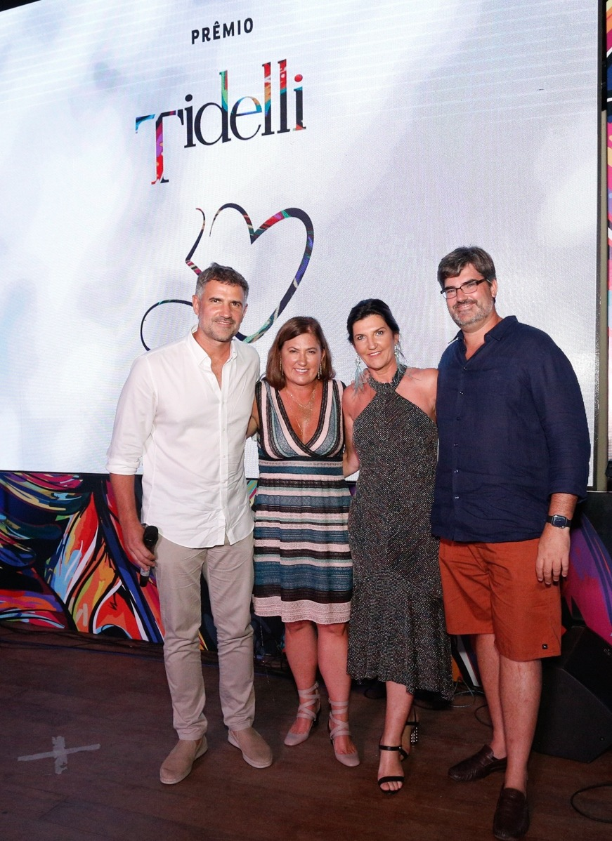 Luciano, Tatiana,Roberta e Giancarlo Mandelli